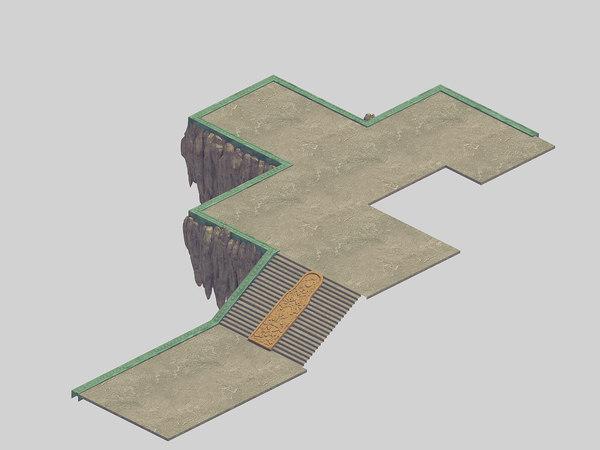 3D jade edge - stone