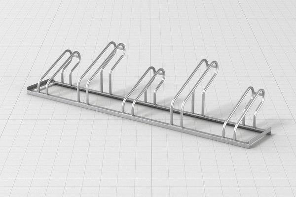 bicycle rack 3D model