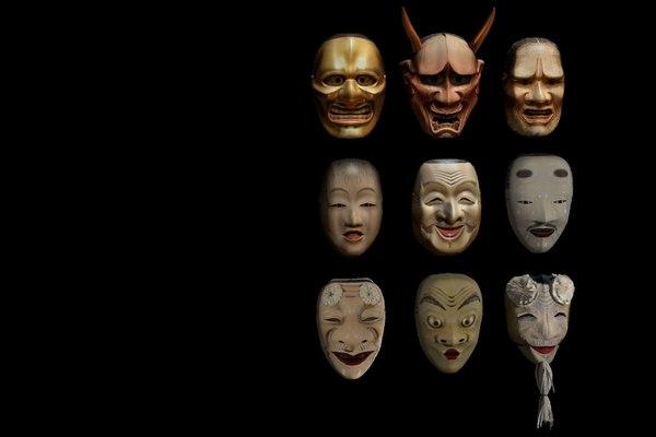 3D mask characters model