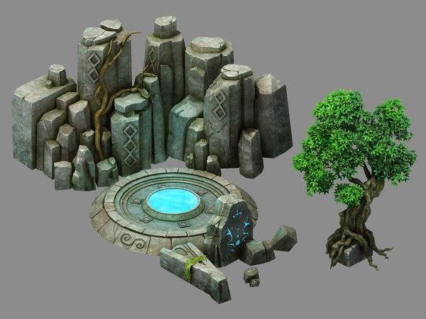 fallen land - sealing 3D