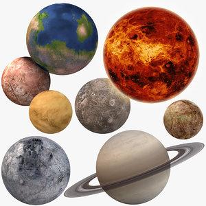 fictional planet model