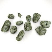 3D stones gameready model