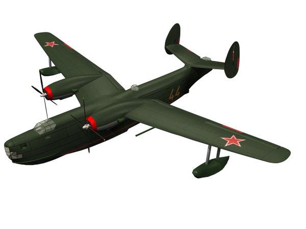beriev be-6 sovit 3D model