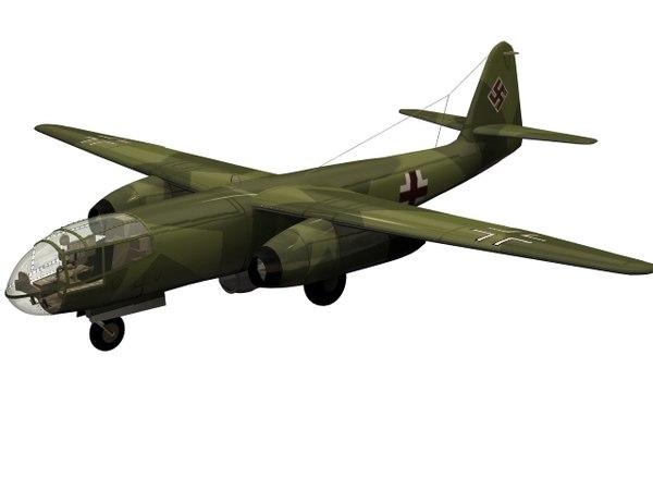 3D bomber arado model