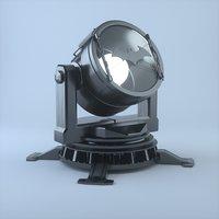 3D searchlight batman light