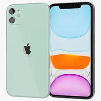 3D realistic apple iphone 11