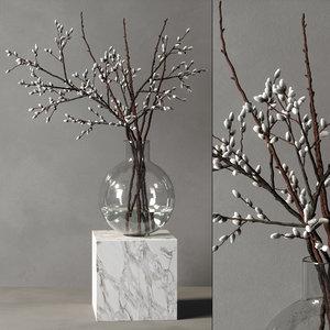 decorative vase 02 3D model