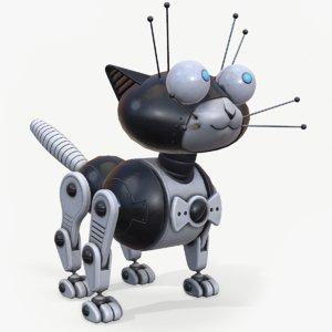 cat robot 3D model