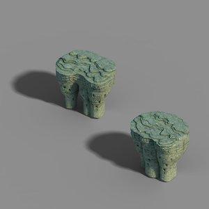 3D zhenmo cave - shitai