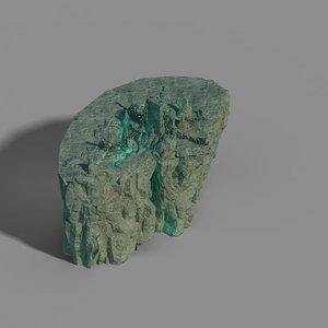3D model demon cave - stone