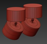 3D ceiling lamps centrsvet 8 model