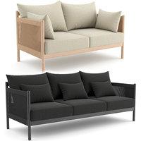 braid sofa norm architects 3D model
