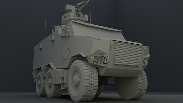 3D griffon french army model