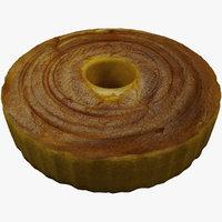 sponge cake model