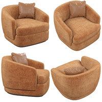 cantori gabrielle armchair 3D model