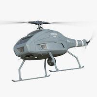 drone helicopter skelder v 3D