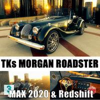 3D morgan roadster