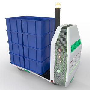3D autonomous forklift model