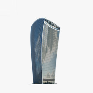 20 fenchurch street 3D