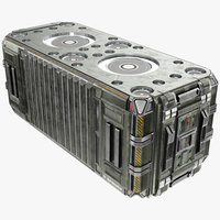 Scifi Container - PBR