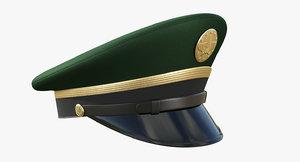 3D army service cap