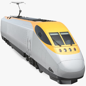 express locomotive generic 3D