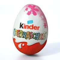 german kinder surprise 3D model