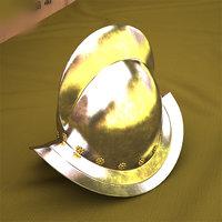 3D morion helmet model