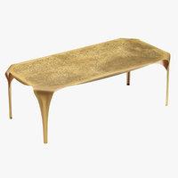 3D model castelli table