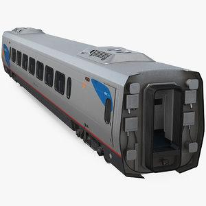 acela express class coach 3D model
