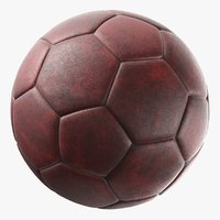 generic leather soccer ball model