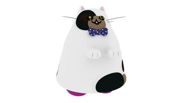 m meow calico model