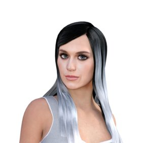 3D katy perry rigged