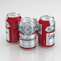 Beer Can Budweiser King Of Beers 330ml