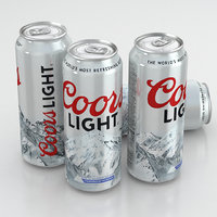 Beer Can Coors Light 500ml