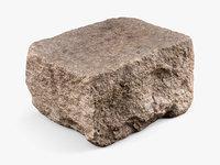 Granite Block Rock (3D Scan)
