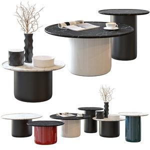 button tables b italia 3D