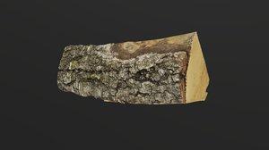 realistic firewood model