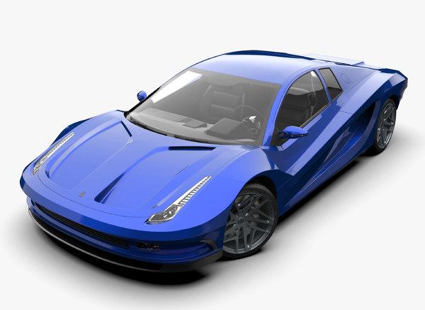 design concept car 3D model
