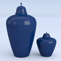 container blue 3D
