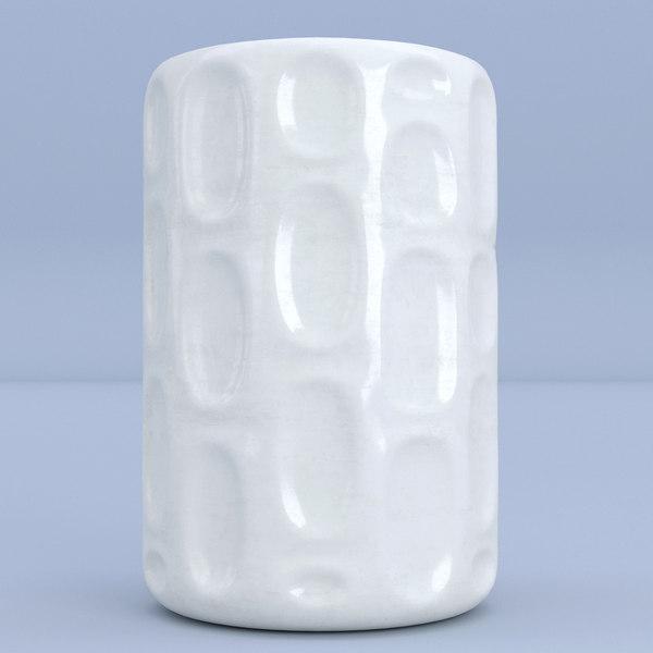 ceramic white 3D model