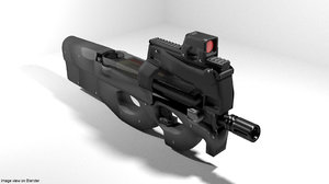 submachine gun fn model
