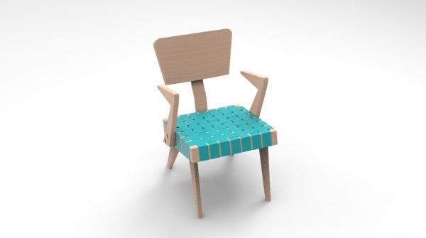 3D designed chair spanner