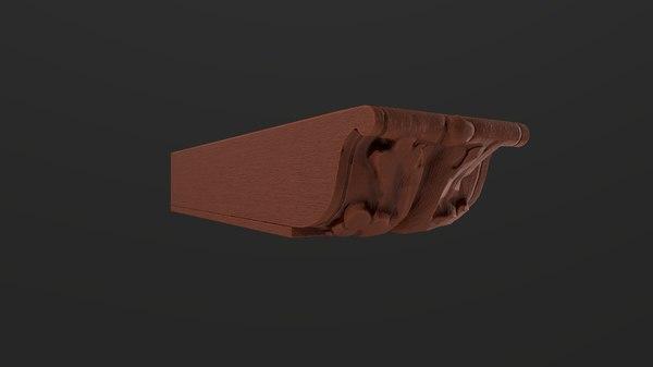 ceiling ornament 3D model
