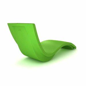 tropitone curve chaise lounge 3D