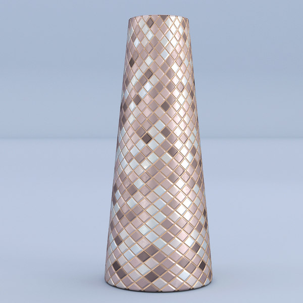 mosaic vase 3D