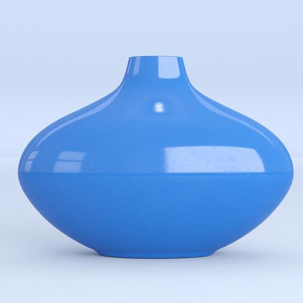 blue vase ceramic 3D model