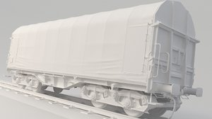 3D container train shimmns model