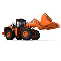 Rigged Hitachi ZW550 Wheel Loader