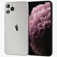 3D realistic apple iphone 11 model